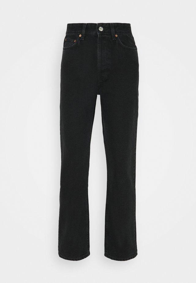 BILLY - Straight leg jeans - dark grey