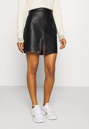LADIES SKIRT - Minifalda - black