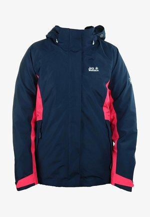 3-IN-1 OUTDOORJACKE  - Light jacket - blue