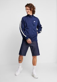 Nike Sportswear - TRIBUTE - Training jacket - midnight navy/white - 1