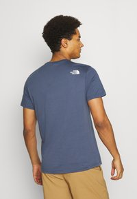 The North Face - SIMPLE DOME TEE - Basic T-shirt - vintage indigo - 2