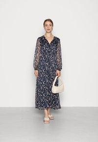 Vila - VIALVIA ANKLE DRESS - Maxi dress - navy blazer - 1