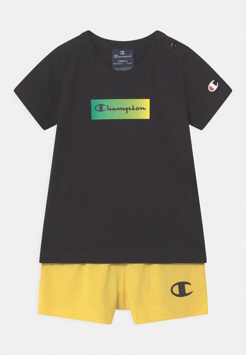 Champion - SET UNISEX - T-shirt imprimé - black