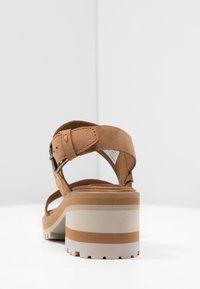 Timberland - VIOLET MARS 2 BAND SANDAL - Sandals - rust - 8