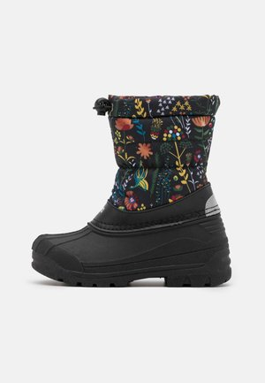 NEFAR UNISEX - Winter boots - black