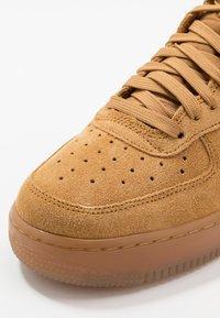 Nike Sportswear - AIR FORCE 1  - High-top trainers - wheat/light brown - 2