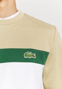 Lacoste - Sweatshirt - marine/farine vert viennois - 5