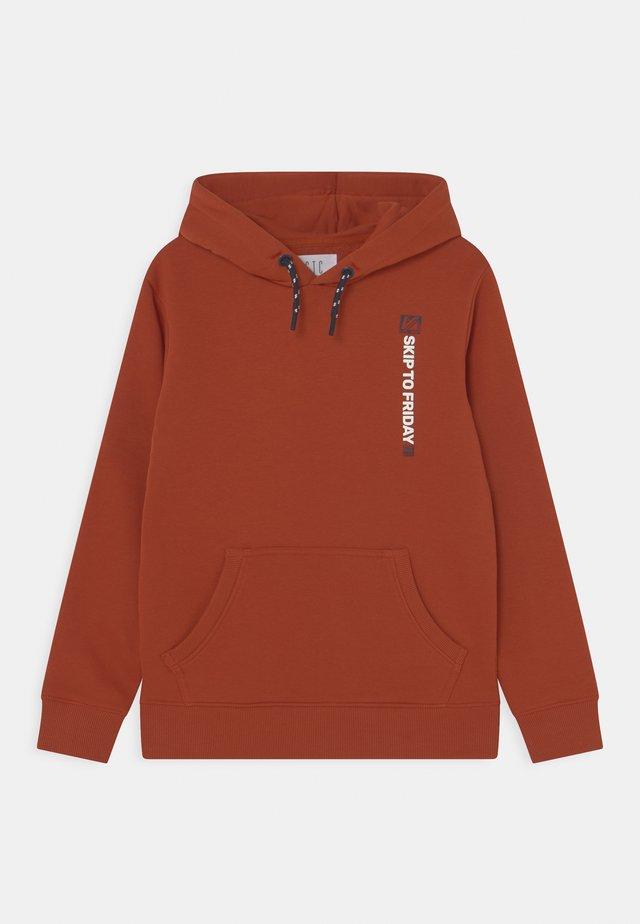 Sweater - brick