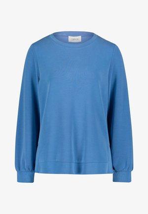 MIT SEITENSCHLITZEN - Sweatshirt - indigo