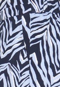 Marks & Spencer London - ZEBRA CULOTTE - Trousers - dark blue - 2