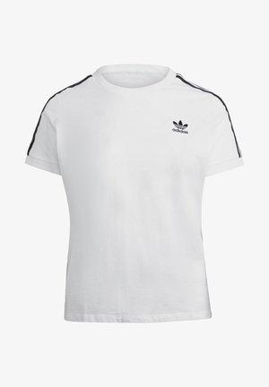 3 STRIPES TEE - Camiseta estampada - white