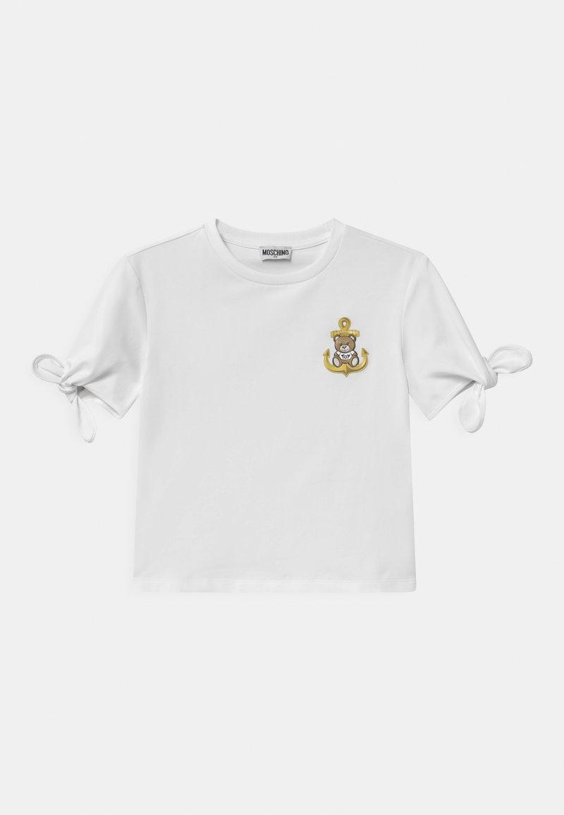 MOSCHINO - Print T-shirt - optic white