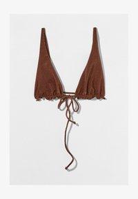 Bershka - Góra od bikini - brown - 4