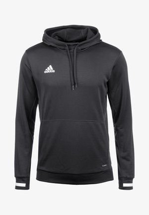 TEAM19 - Sweat à capuche - black / white