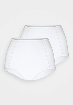 BRIEF 2 PACK - Shapewear - white