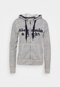 Abercrombie & Fitch - LONG LIFE FULL ZIP - Bluza rozpinana - grey - 3