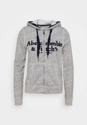 LONG LIFE FULL ZIP - Zip-up hoodie - grey