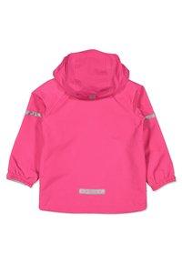 Polarn O. Pyret - Waterproof jacket - pink - 1