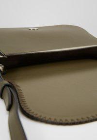 Calvin Klein - MELLOW SADDLE BAG - Across body bag - green - 4