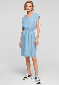 s.Oliver - Denim dress - blue lagoon - 1