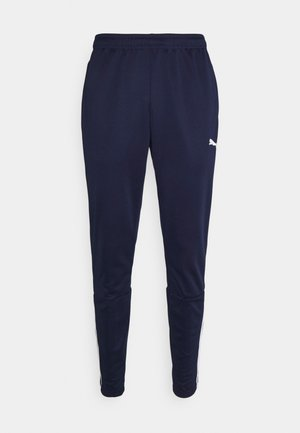 TEAMLIGA TRAINING PANTS - Tracksuit bottoms - peacoat/white