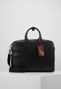 Calvin Klein - LAPTOP BAG - Aktentasche - black - 0