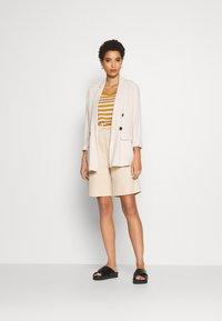 Anna Field - Print T-shirt - white/yellow - 1