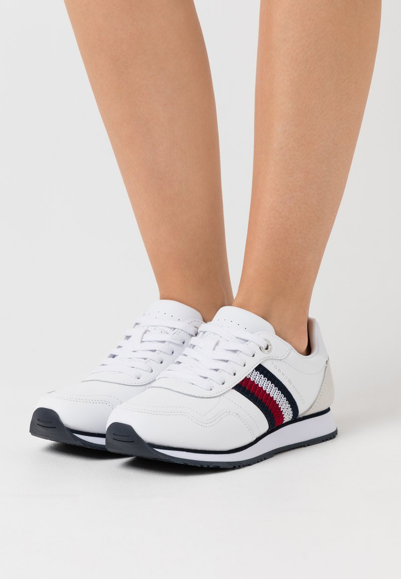 Tommy Hilfiger - RUNNER  - Sneakers basse - white