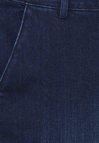 PULZ - PXLEONORA - Bootcut jeans - dark blue denim - 2