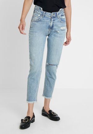 YOANA - Relaxed fit jeans - drawing wash