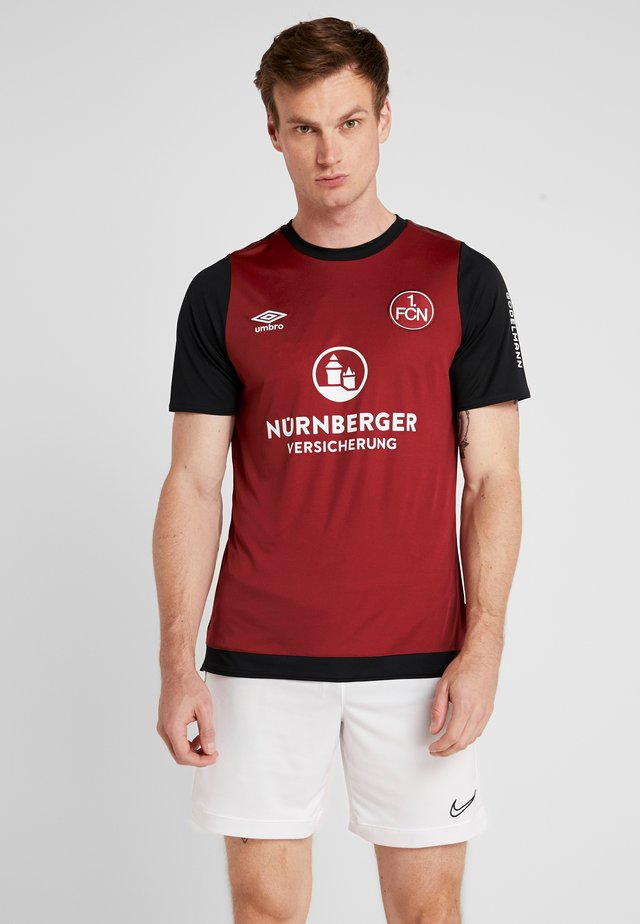 FC NÜRNBERG HOME - Club wear - biking red/black/brilliant white