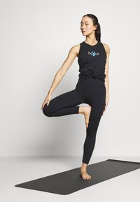 Nike Performance - DRY TANK YOGA - Sportshirt - black - 1