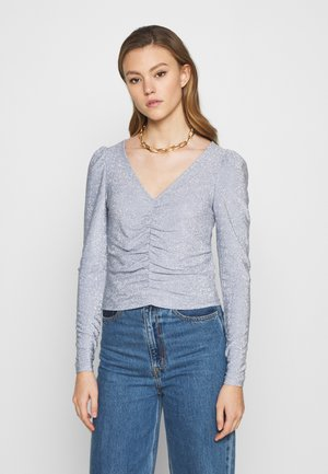 MAJLI - Long sleeved top - blue/silver