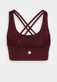Cotton On Body - STRAPPY SPORTS CROP - Sport BH - mulberry - 1