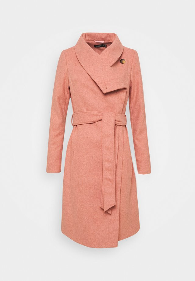 SLCALLAHA CANASTA COAT - Płaszcz wełniany /Płaszcz klasyczny - cameo brown