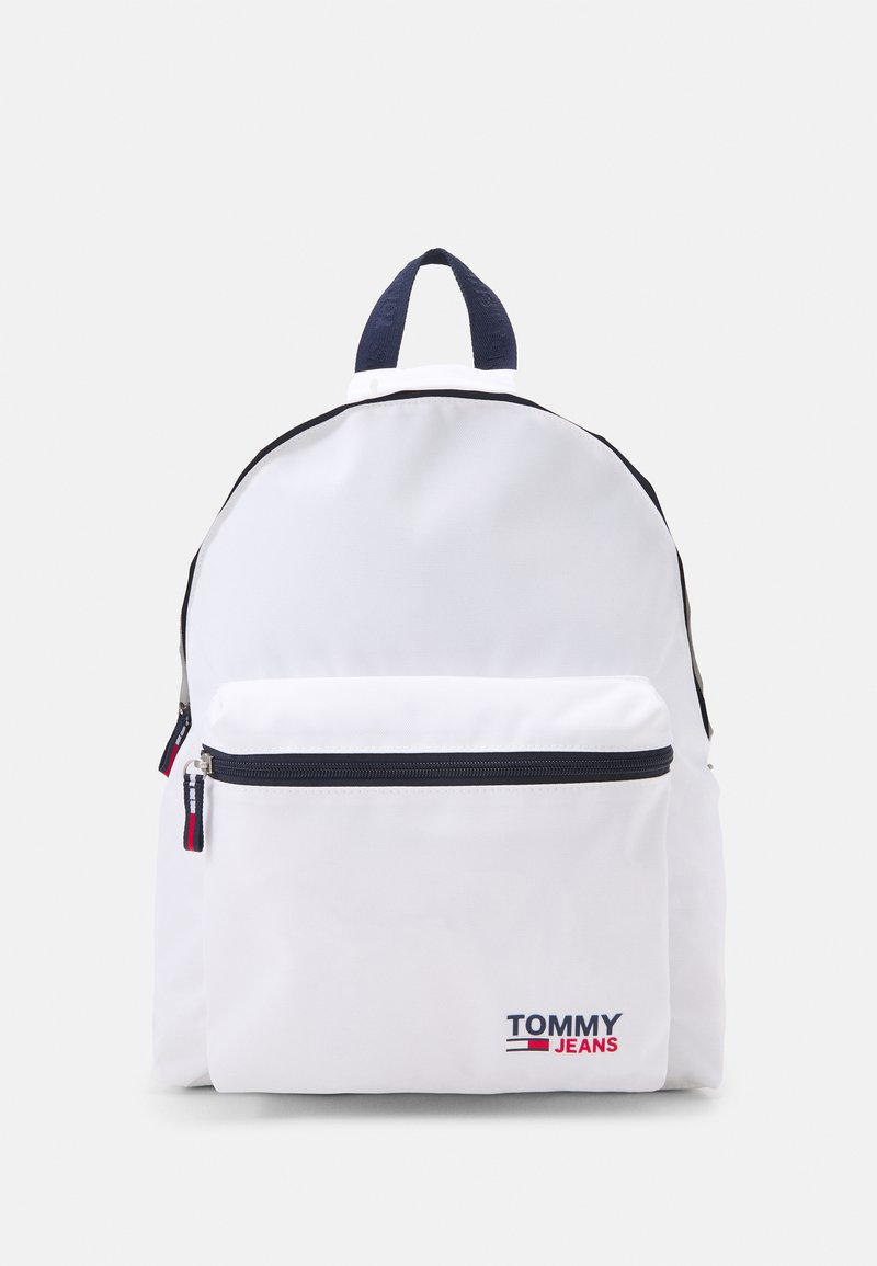 Tommy Jeans - CAMPUS BACKPACK UNISEX - Rucksack - white