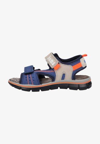 Walking sandals - mittelblau
