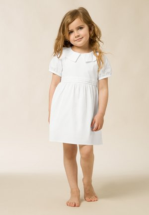MIT PUFFÄRMEL - Day dress - bright white