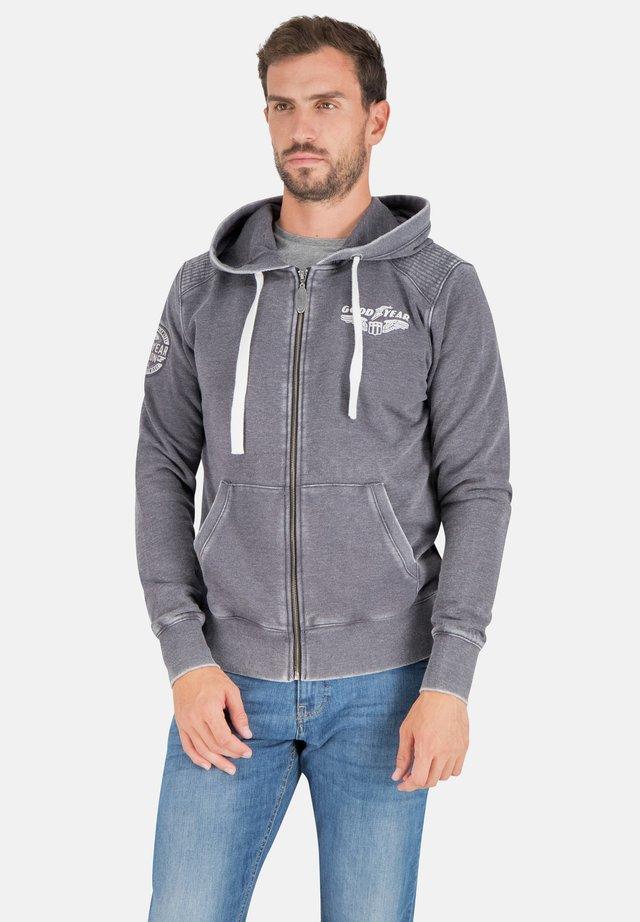 Zip-up hoodie - vintage navy