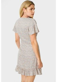 C&A - ARCHIVE - Day dress - coral - 2