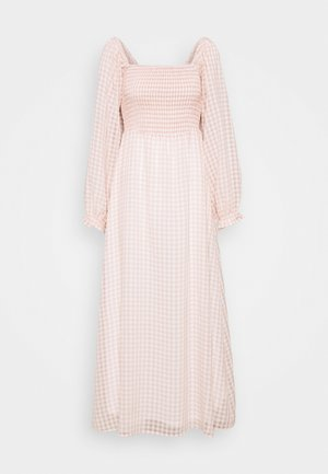 UMILINA LONG DRESS - Maxi-jurk - dusty pink