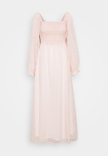 UMILINA LONG DRESS - Maxi-jurk - dusty pink