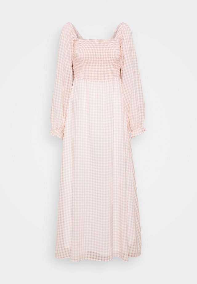 UMILINA LONG DRESS - Maxikjoler - dusty pink