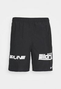 Nike Performance - Korte sportsbukser - black/white/silver - 4
