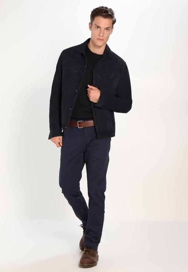 Pier One Sweter - black/czarny Odzież Męska PXRI