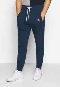 Carlo Colucci - Tracksuit bottoms - dark blue - 0