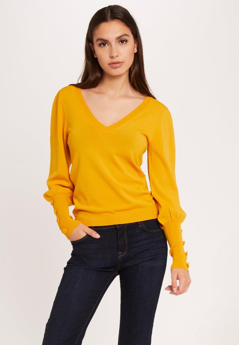 Morgan - Sweatshirt - ochre