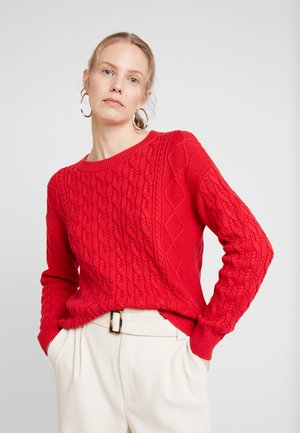 CABLE CREW - Jumper - modern red