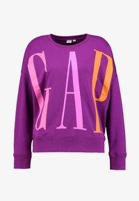GAP - EXPLODED - Sweatshirt - purple wine - 3
