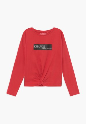 TEENS FUTURE CHANGE - Longsleeve - rot